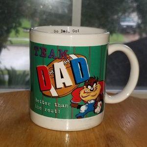 Taz Team Dad coffee mug